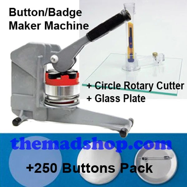 2 1 4 Button Maker Machine