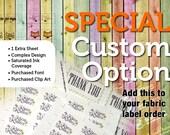 Special Custom Option —...