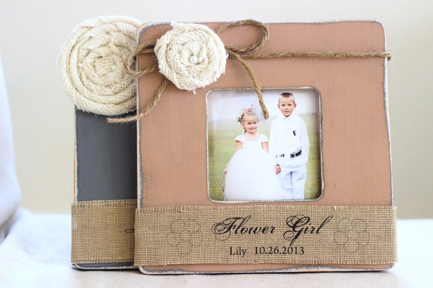 Thank You Gift For Flower Girl And Ring Bearer By