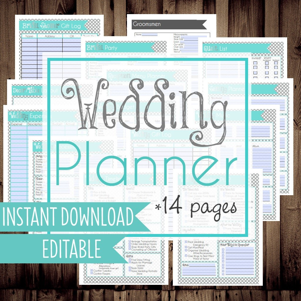50 Off Wedding Planner Diy Wedding Binder Wedding Planner