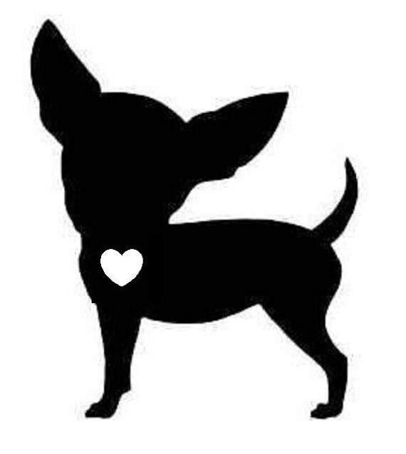 Download Love your Chihuahua Vinyl decal sticker for switch iPad