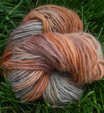 Suri Alpaca Merino Lopi Lite Yarn, Handpainted, Dessert Mirage