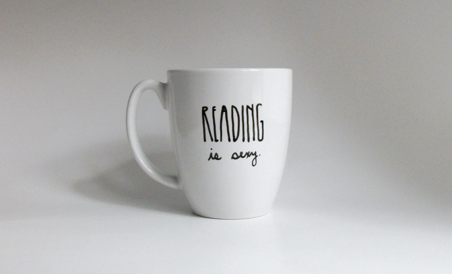Reading is Sexy Coffee Cup