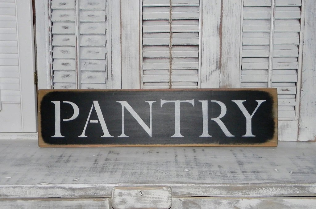 Pantry Sign Wall Decor Rustic Country Home Decor Signs on Home Wall Decor Signs id=46423