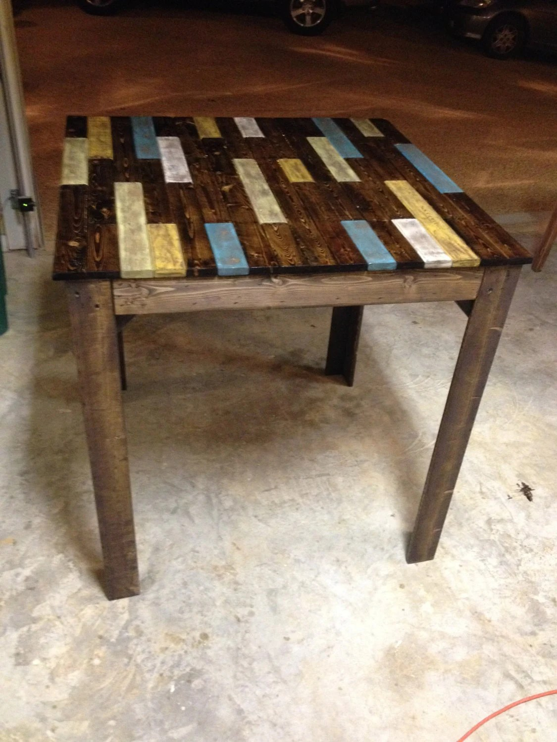 Items Similar To Multi Color Farmhouse Distressed Rustic