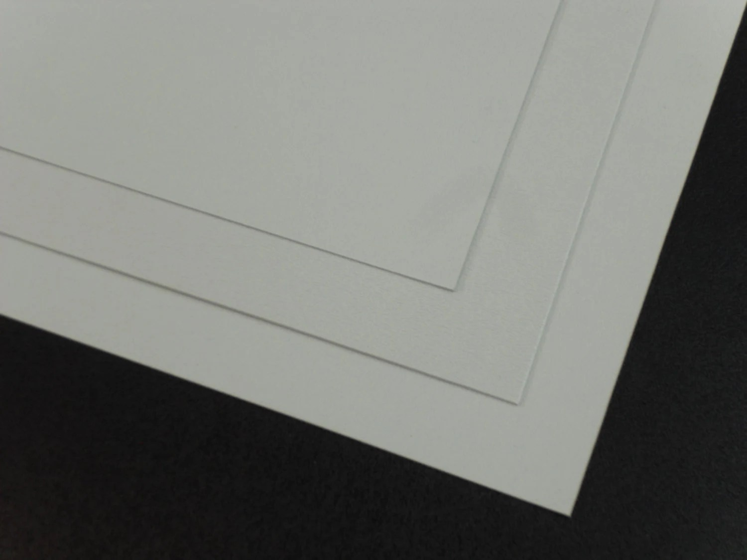 1 Large White Abs Plastic Sheet 24x24x1 8 0 125