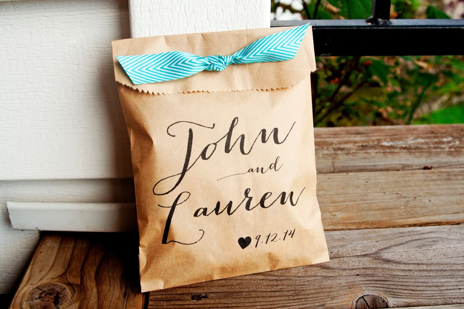 Reception Favor Ideas