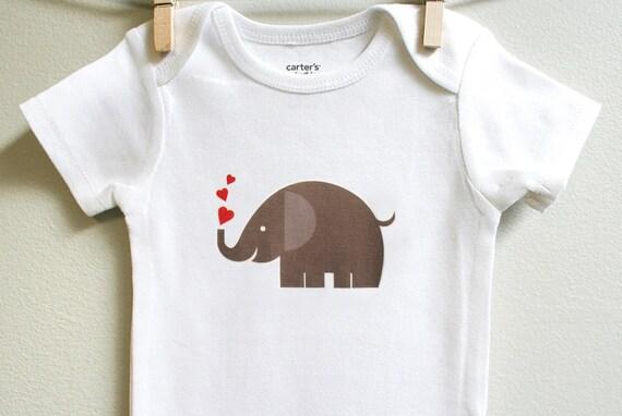 Elephant Hearts Baby Boy Shower