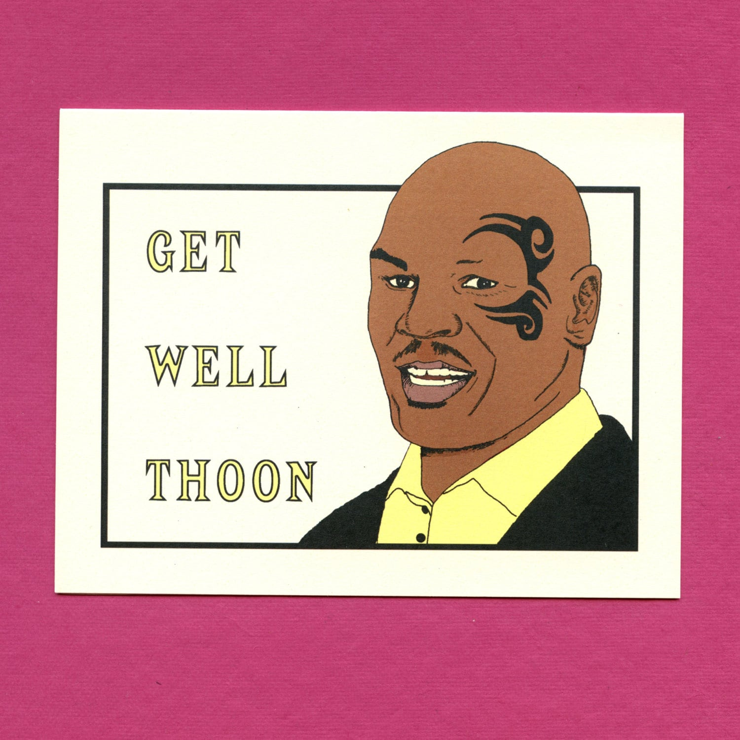 mike tyson merry christmas cards - Merry Christmas Mike Tyson
