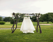 Rustic Wedding Arch - MollieLe
