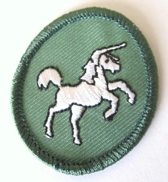 Girl Scout Troop Crest Unicorn