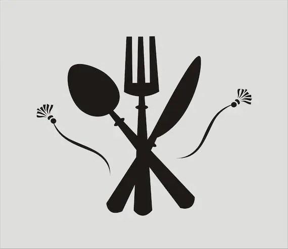 Fork Spoon Knife Silhouette