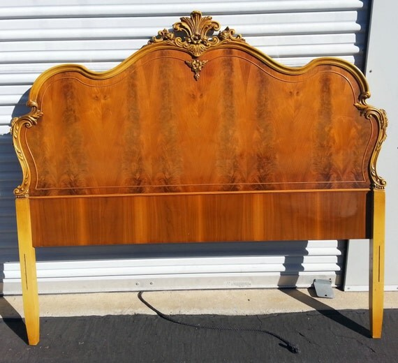 Vintage French Provincial Headboard