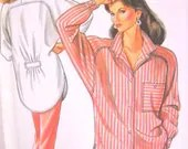 Womans Shirt Pattern, Un Cut, New Look 6330, Size 8 thru 18, Sewing Notions - StitchKnit