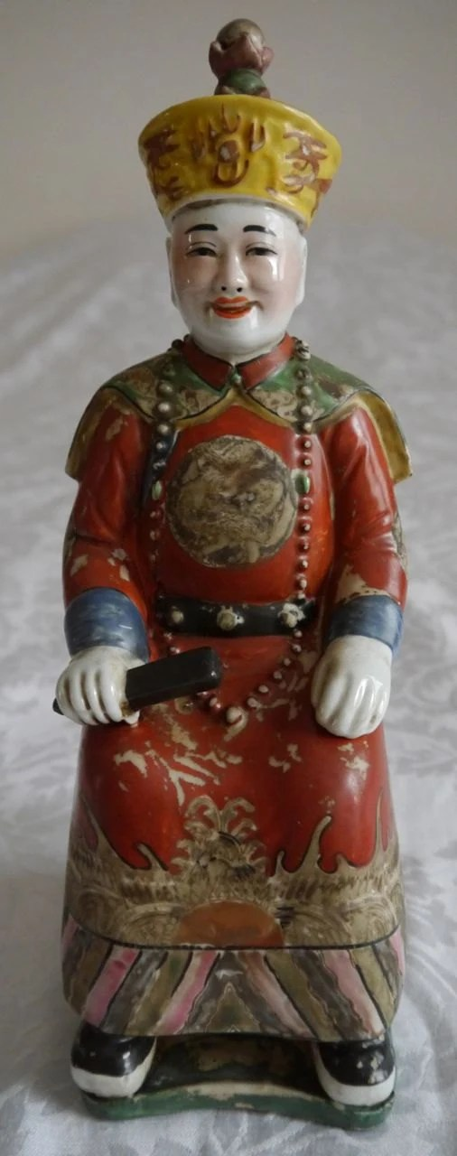 Cloisonne Chinese Emperor