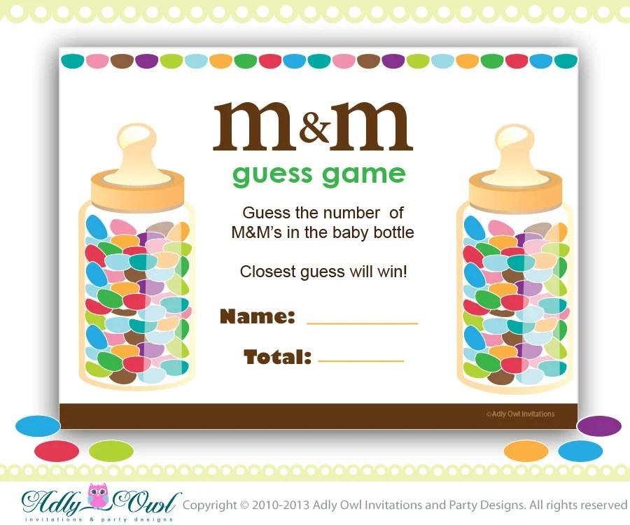 Baby Game M Shower M