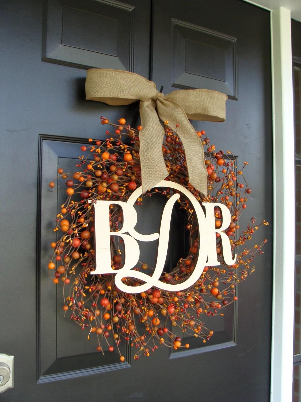 Fall Wedding Wreaths