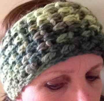 Ear Warmer Headband - Snuggle Yarn