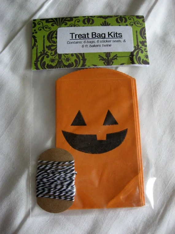 Halloween Treat Bag Kit - 4 Styles Available