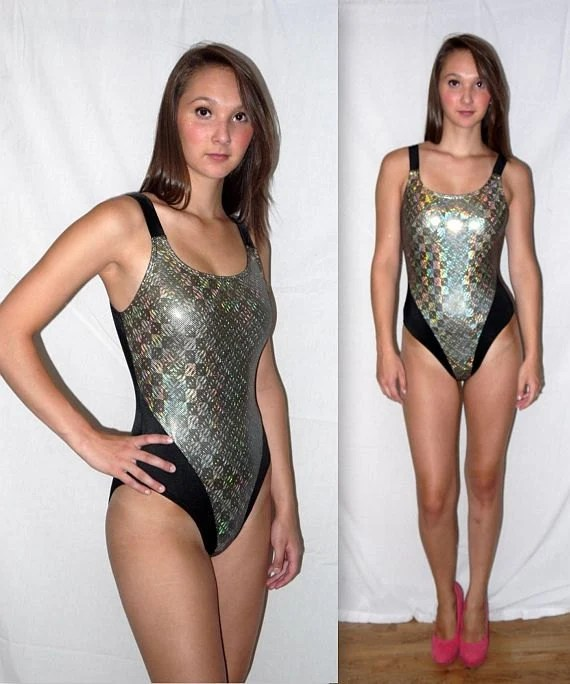 Holographic Bathing Suit