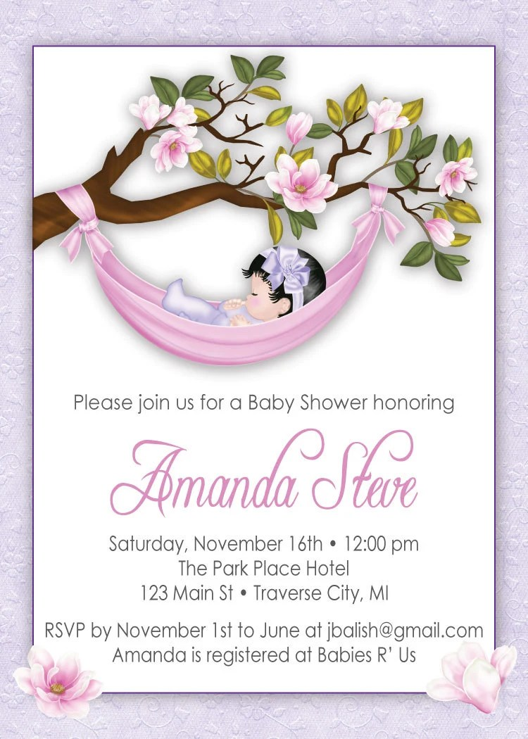 Different Baby Shower Invitations