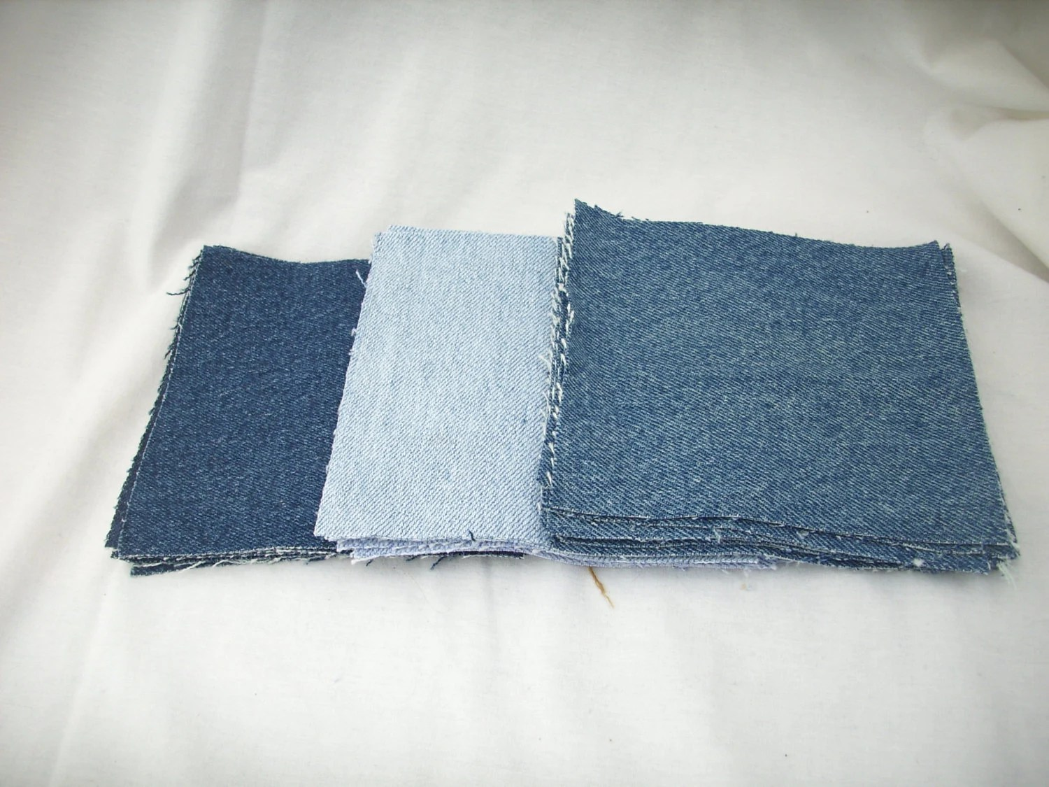 Denim Material Quilting