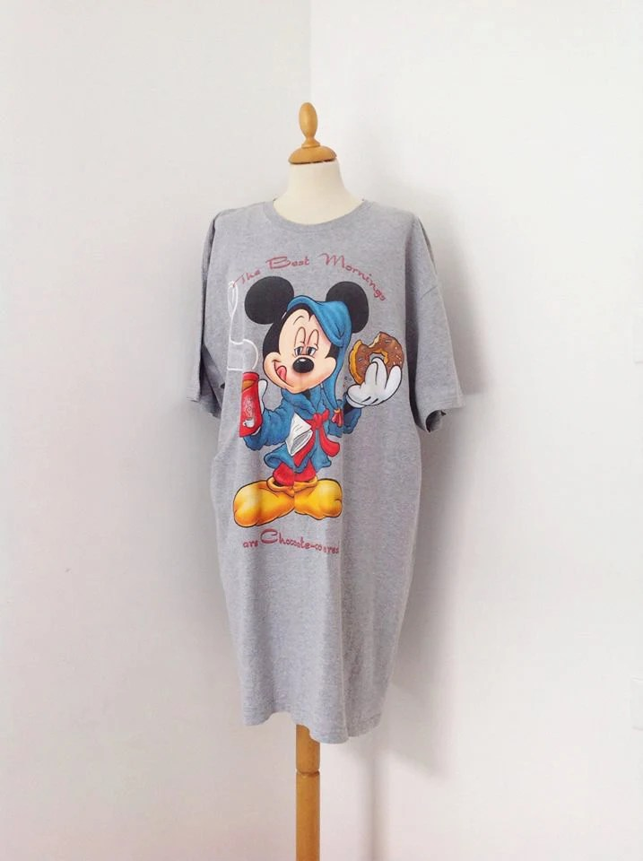 Vintage 80s original disney t shirt oversized vintage for Oversized disney t shirts