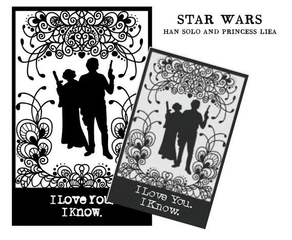 Download I love you. I know. Star Wars Han Solo and Princess Leia