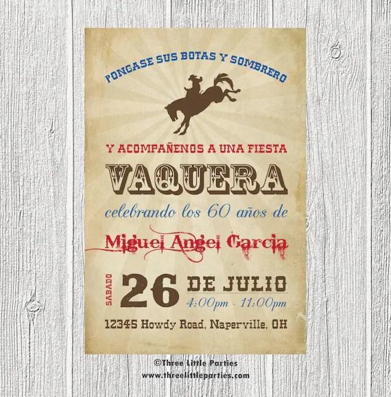 De Invitaciones Vaqueras Xv