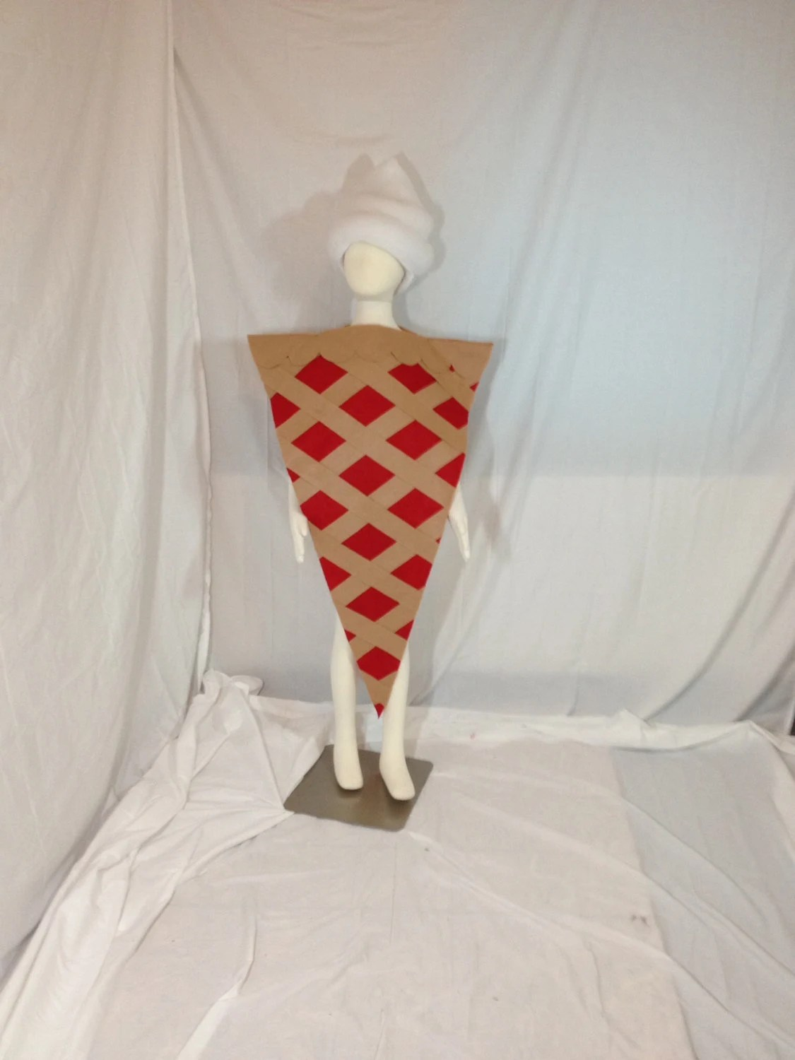 Cherry Pie Costume With Whipped Cream Hat By Revelrycostumes