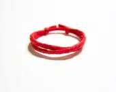 Ring Adjustable Red String of Fate Men's Bracelet Kabbalah Anklets Greek Evil Eye Mati Hamsa JR A - GR168