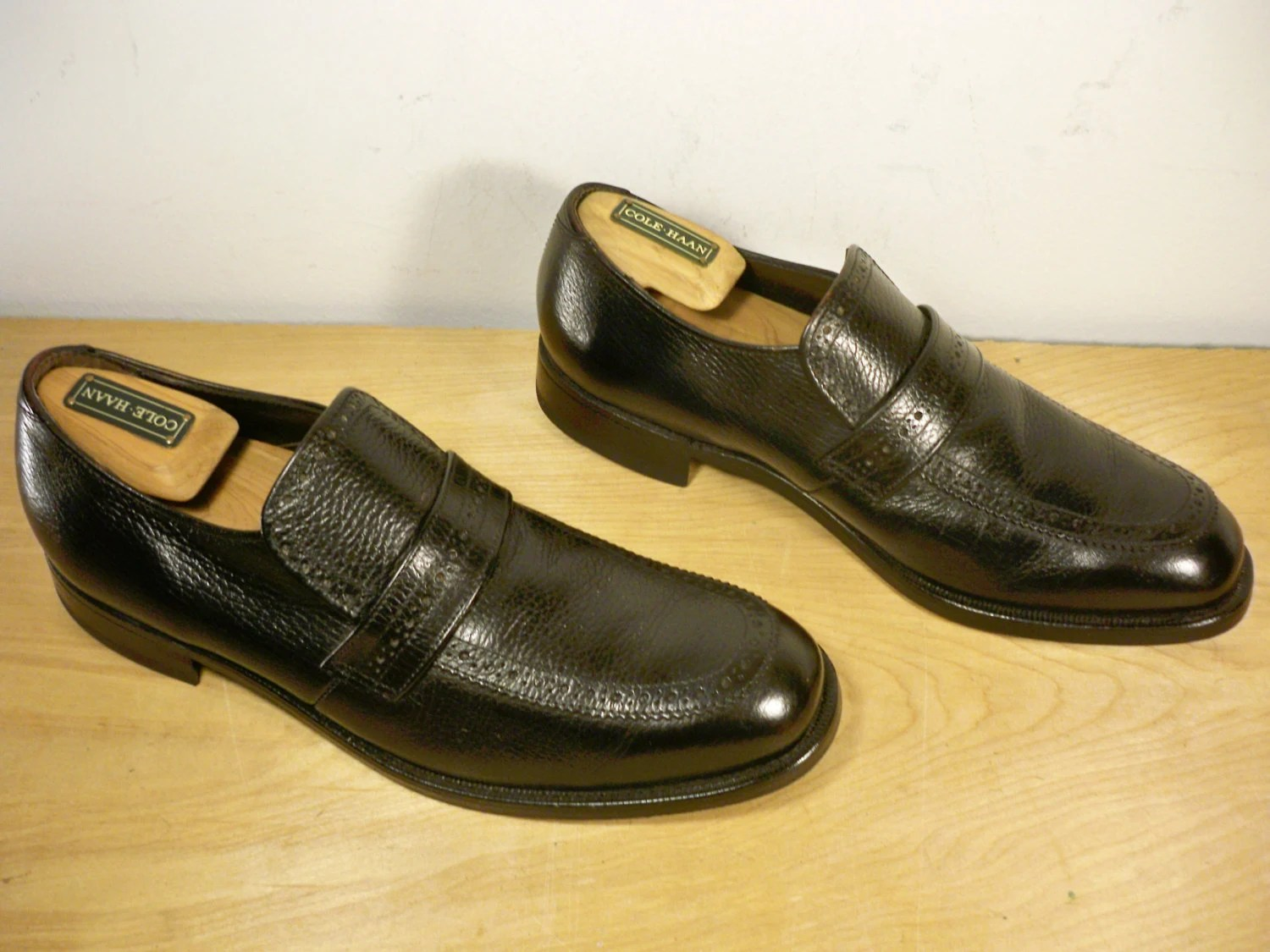 vintage quinn union made in usa black leather men s