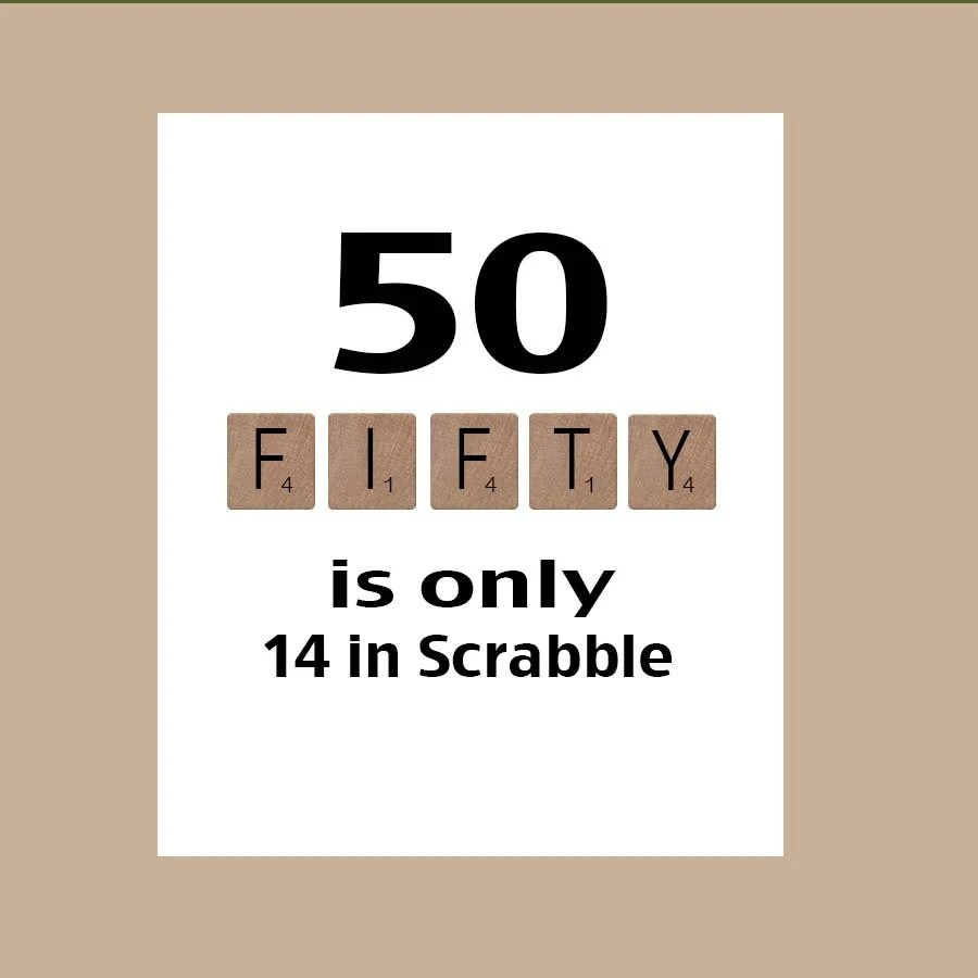 Funny 50th Birthday Cards Printable