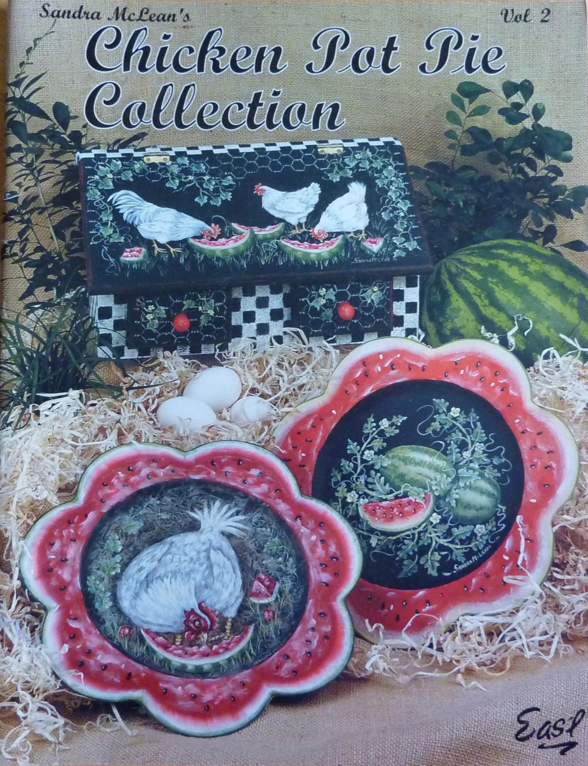 Chicken Pot Pie Collection Vol 2 By Sandra Mclean Tole