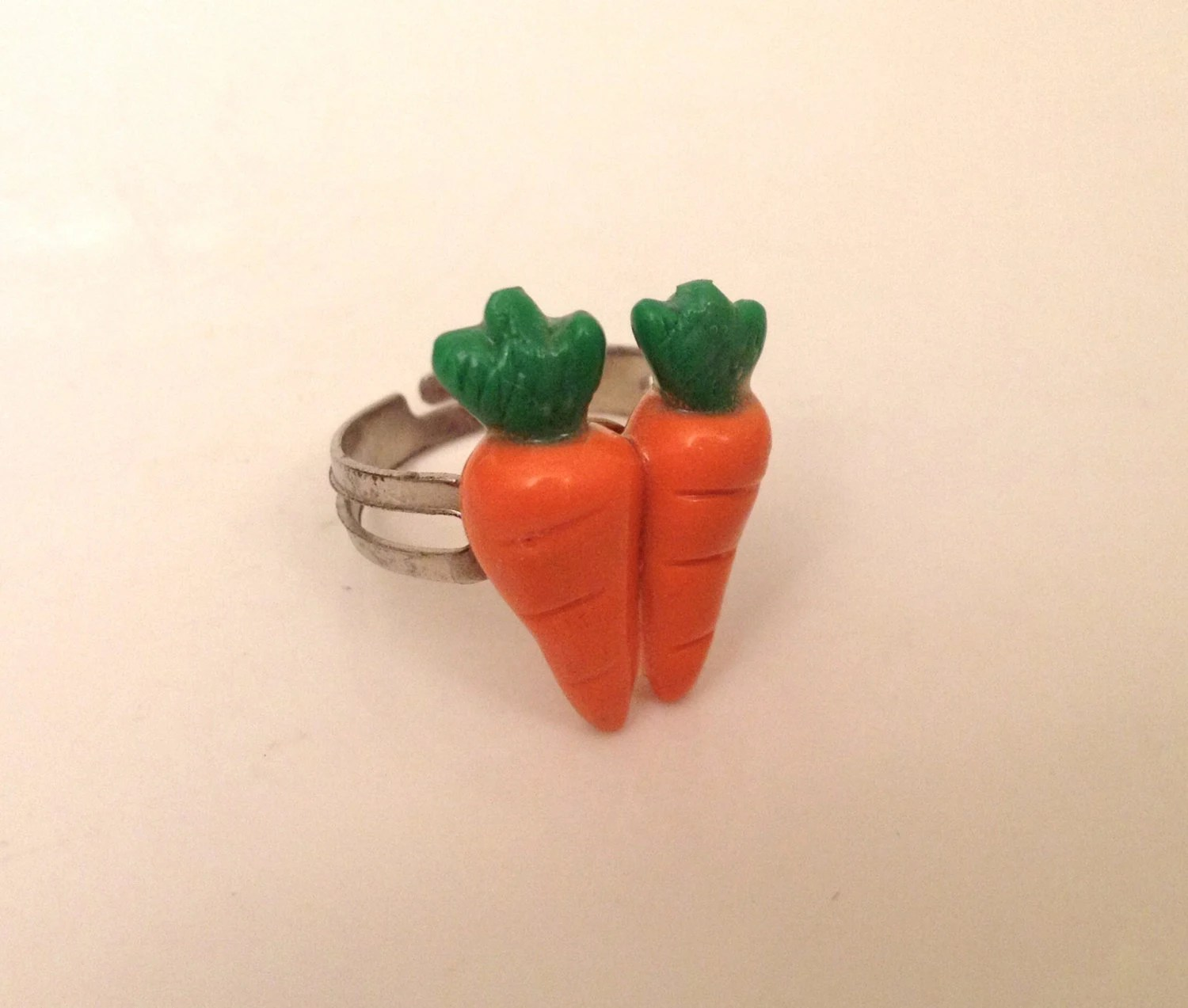 Two Carrot Ring By BlueberryHeadShop On Etsy