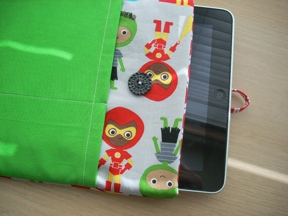 ann kelle super kids kona solid iPad cover - FREE SHIPPING