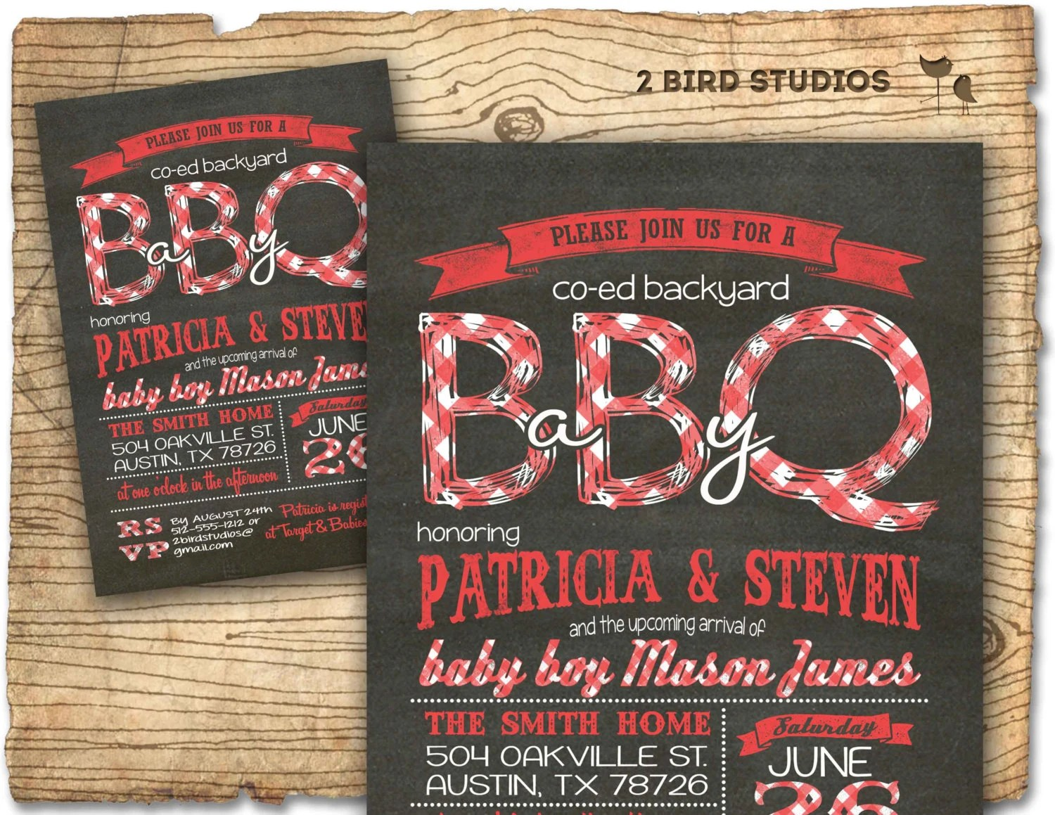 Coed Baby Shower Invitations