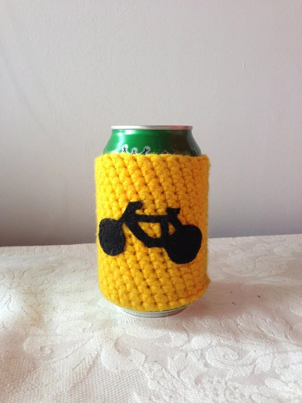 Beer Bottle Koozie Crochet Pattern