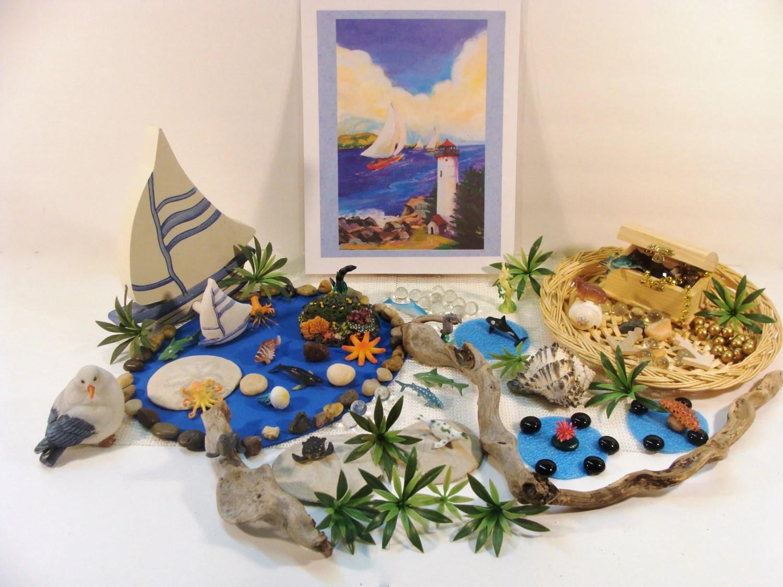 Under The Sea Toy Learning Activity Ocean Reggio Emilia