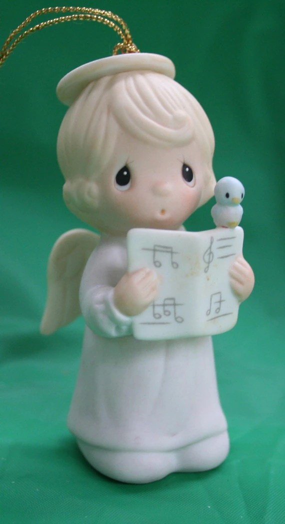 Precious Moments Christmas Ornament Let Heaven And Nature Sing