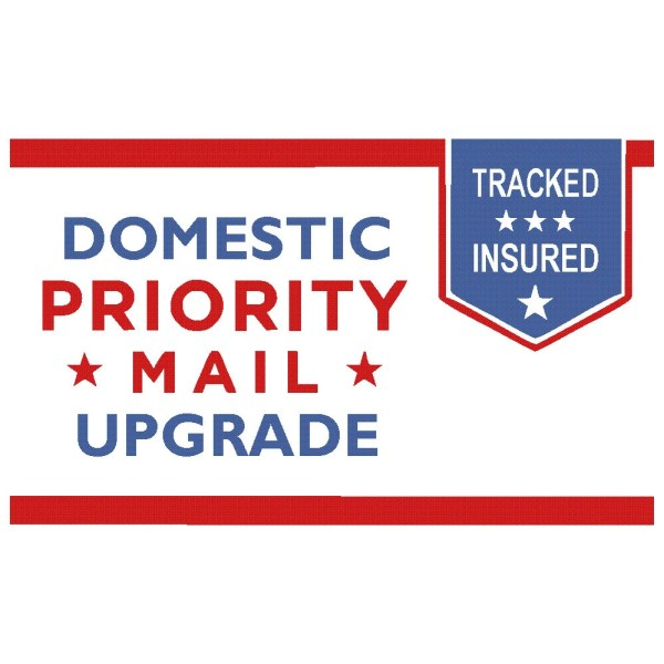 USPS Priority Mail Shipping Upgrade 4.00 Estimated 1-3