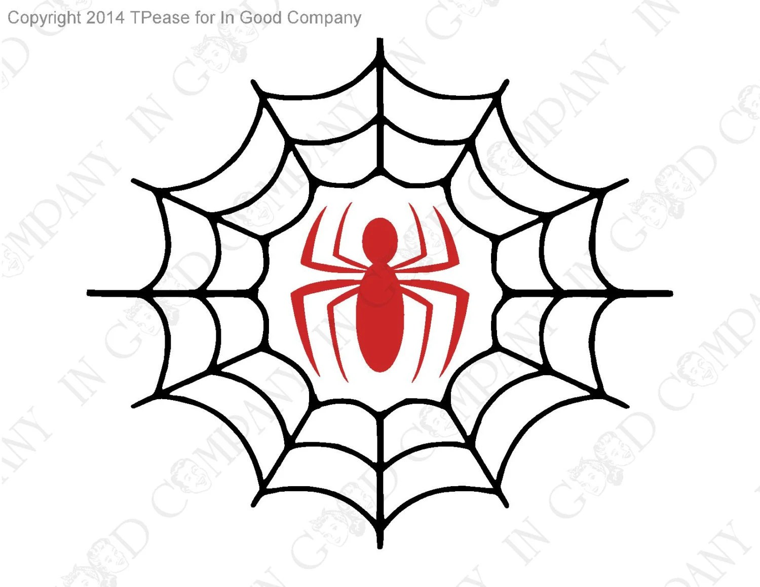 Retro Spiderman Wall Decal 11 Wide 9 5 High