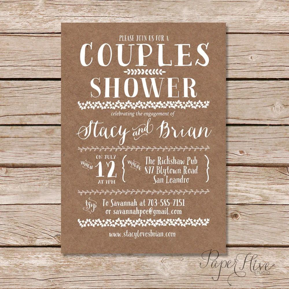 Couples Wedding Shower
