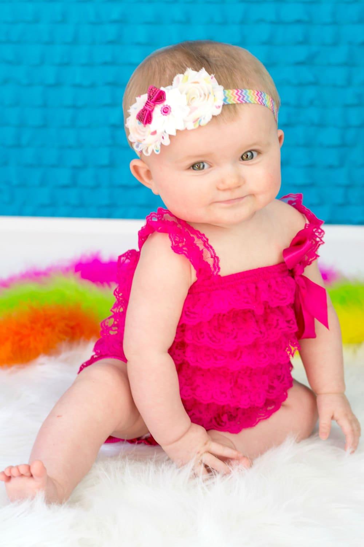 Rainbow Headband, Rainbow Baby Headband, Bright Spring ...