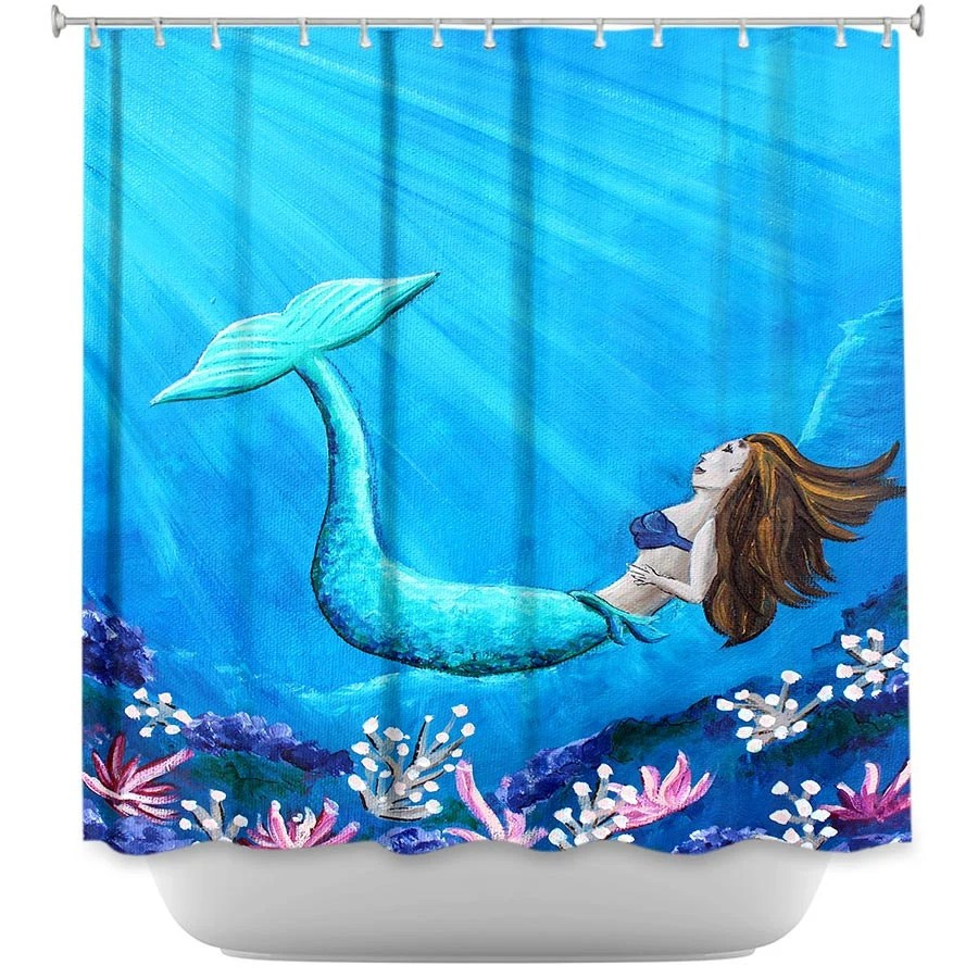 Girl Shower Curtains