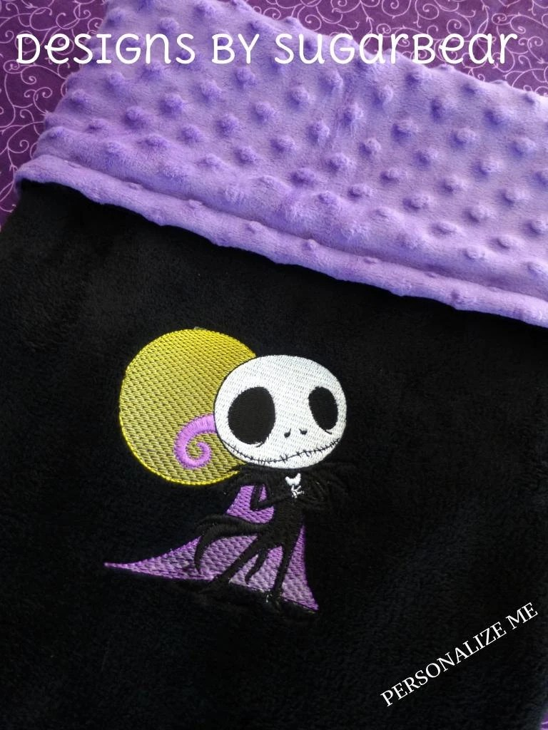 Jack Skellington Blanket