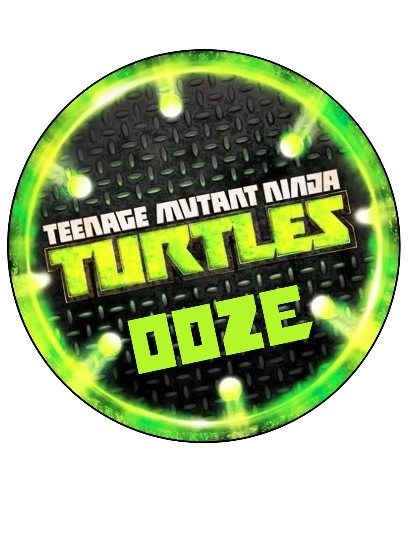 Ninja Turtle Sewer Lid Logo