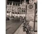 Munich At Night, Germany Photograph