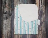 Birch forest cotton and m...