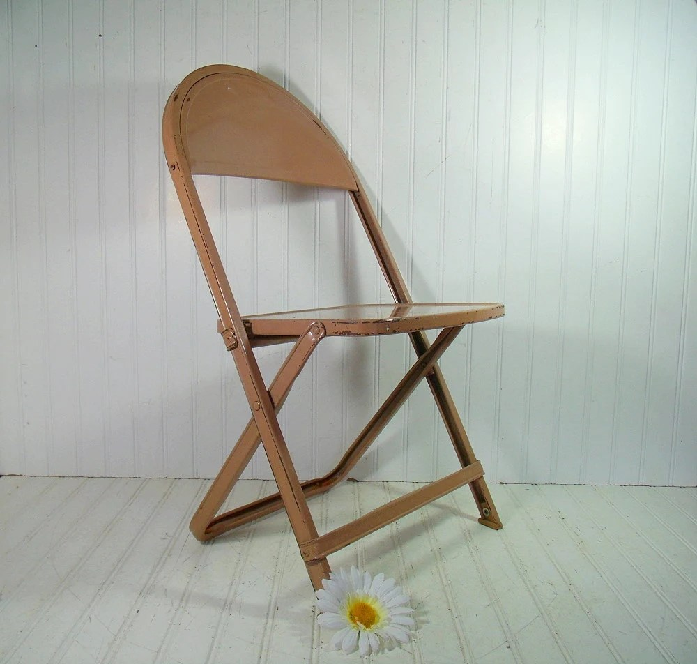 Chairs Wood And Metal Folding